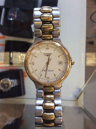 Reloj Longines hombre chapado oro