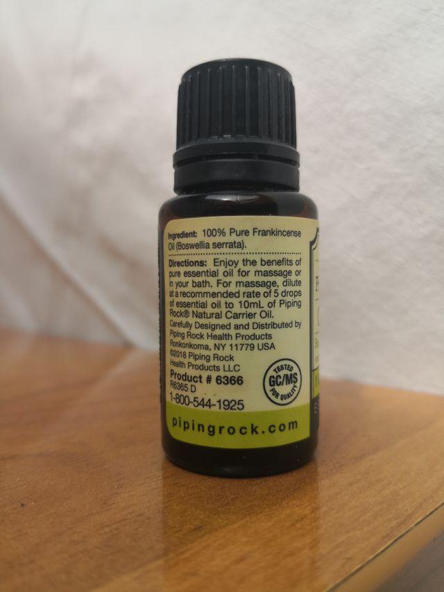 INCIENSO Frankincense Aceite esencial PURO eco/bio