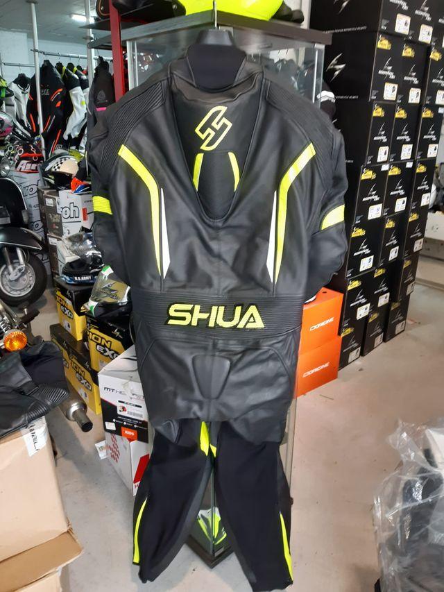 Shua Infinity Mono de Moto 1 Pieza Negro / Amarill