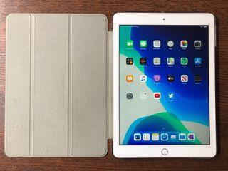 "iPad 2018 9.7"" WiFi Plata con funda"