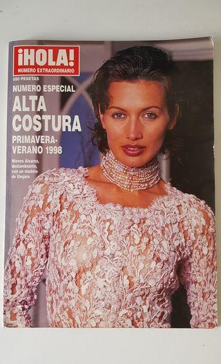 Hola Número Especial Alta Costura 1998