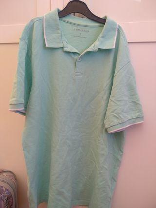 Camiseta verde agua
