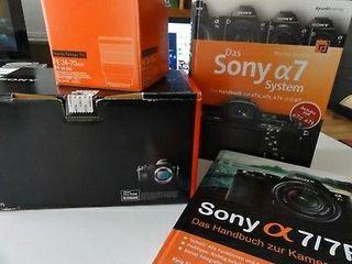 Caméra Sony Alpha 7s + de nombreux accessoires - O