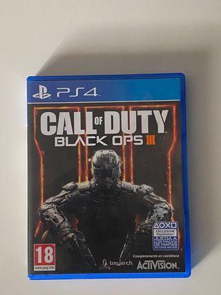 Videojuego Black ops 3