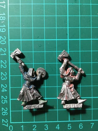 Hermanas de la batalla Mordheim