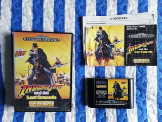 Mega Drive Indiana Jones Completo