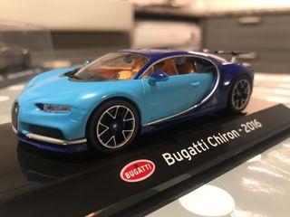 Bugatti Chirion escala 1/43