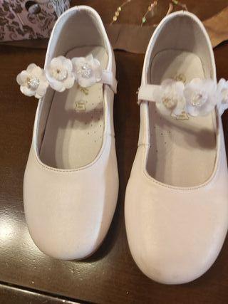 Zapatos de niña comunión
