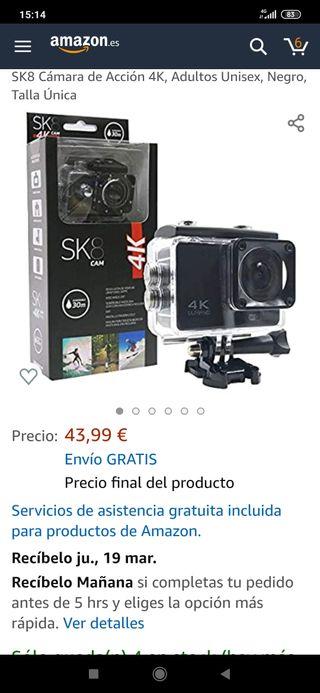 cámara 4k