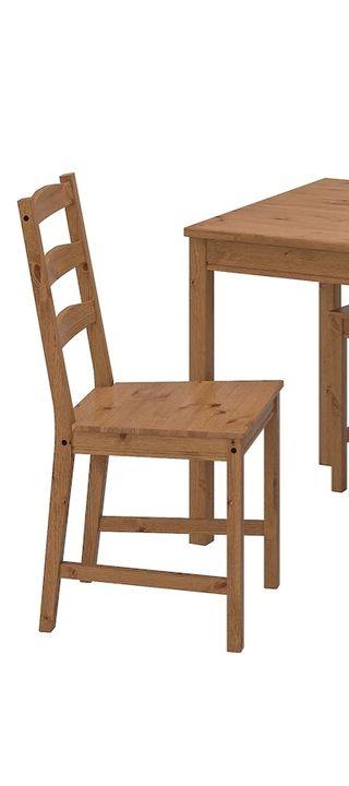 3 sillas de madera ikea