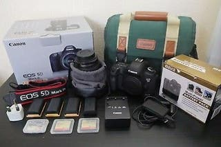 Excellent Eos 5D mark III +objectif 24-105mm canon