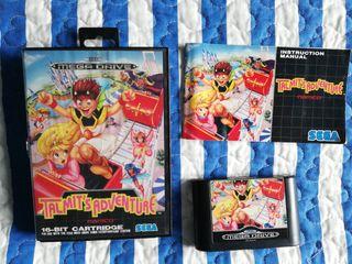 Mega Drive Talmit`s Adventure Completo