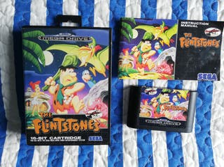 Mega Drive Flintstones Completo