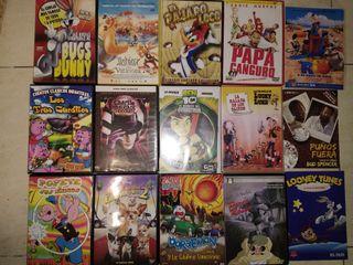 38 Peliculas en DVD