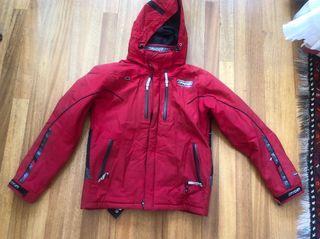 Chaqueta esquí Spyder roja