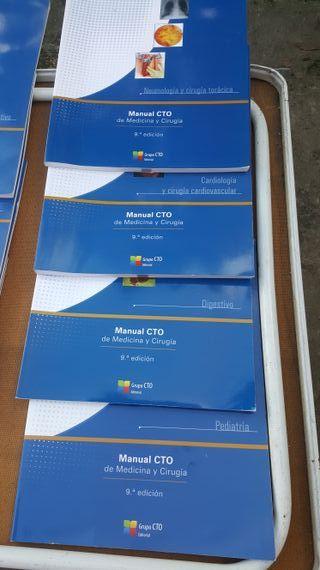 Pack libros medicina CTO