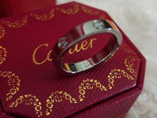 Anillo Cartier LOVE oro blanco
