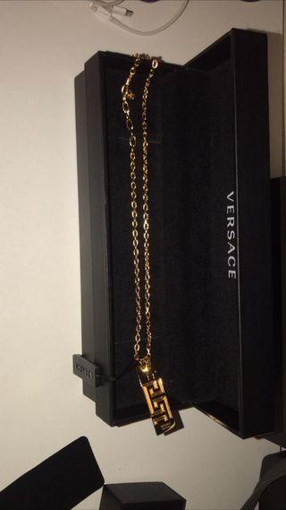 Collar Versace 24k
