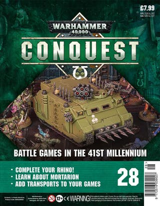 Warhammer Conquest 10 - Rhino Parts (ACCESORIOS)