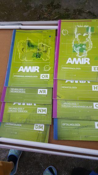 Pack libros medicina amir