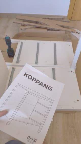 Montamos cualquier cómoda mesilla aparador mesa ..