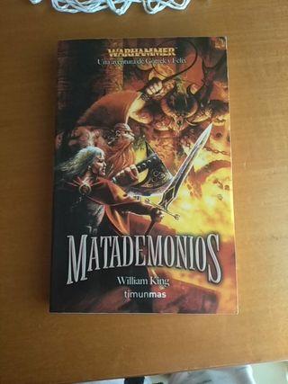 Libro Matademonios Warhammer