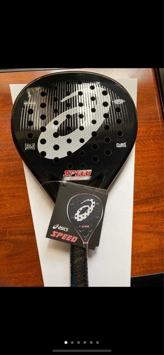 Pala padel ASICS SPEED SOFT EN PERFECTO ESTADO
