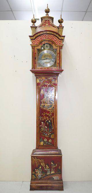 Antiguo reloj chino - oriental