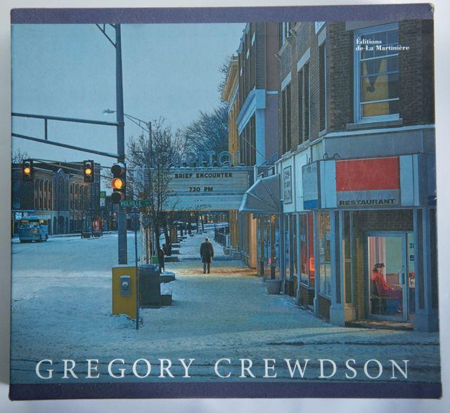 """""""Brief encounters"""", Gregory Crewdson photobook."""