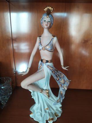 Figura de porcelana Vittorio Sabadin 1989