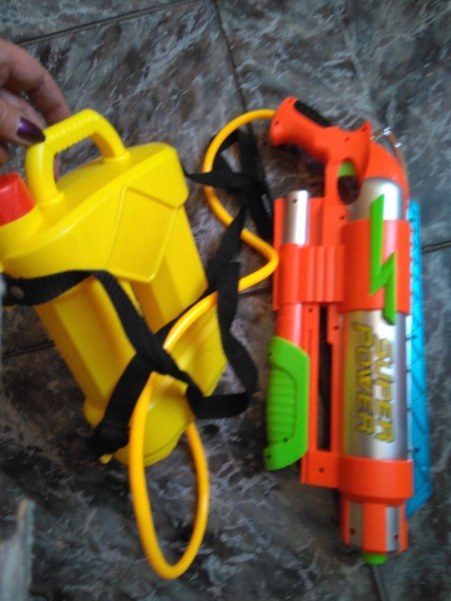 Lanzador pistola de agua Super Power
