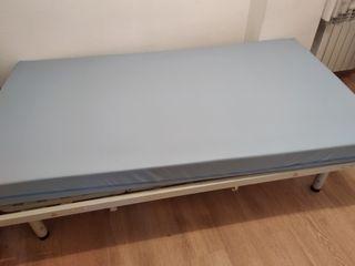 cama articulada geriátrica motorizada