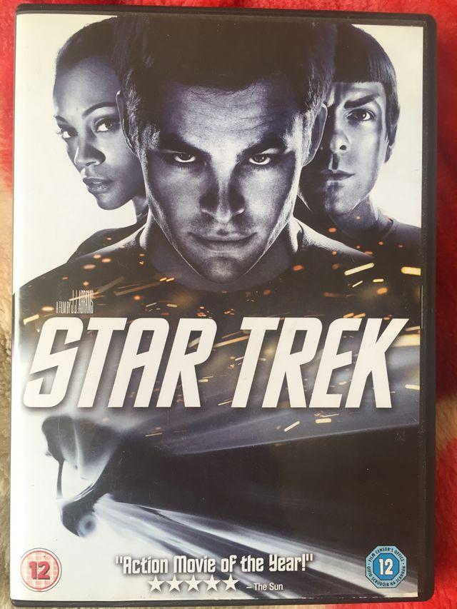 DVD Star Trek.