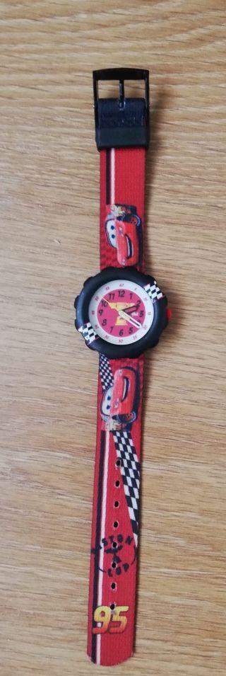 Reloj de niño de Cars