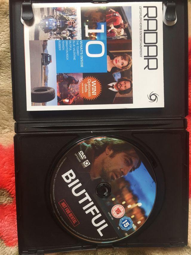 DVD biutiful.