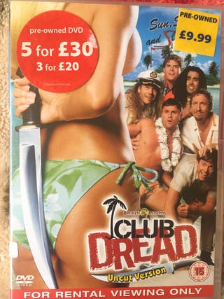 DVD club dread.