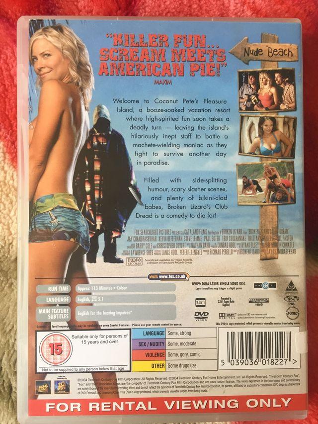 DVD club dread.