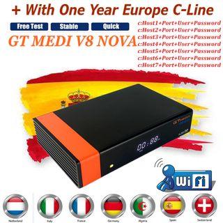 Decodificador GT MEDIA V8 NOVA
