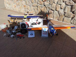 Conjunto de aviones RC