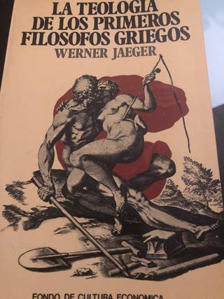 Libro LA TEOLOGÍA DE LOS PRIMEROS FILOSOFOS GRIEGO
