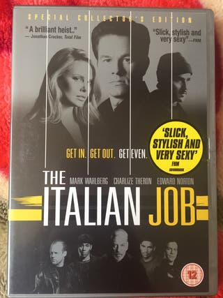 DVD the Italian job.