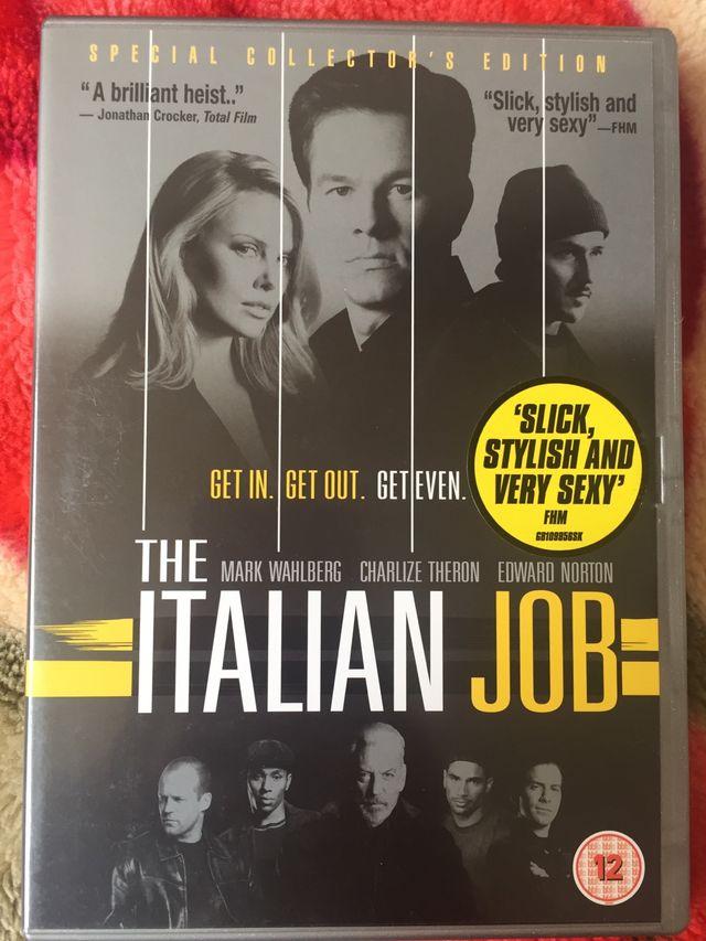 DVD the Italian job.