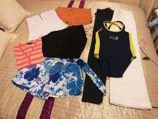 lote 8 piezas ropa mujer