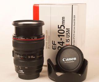 objetivo Canon EF 24 105 1:4 L Is usm como nuevo