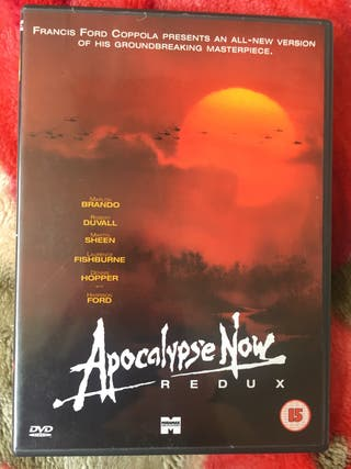 DVD apocalypse now.