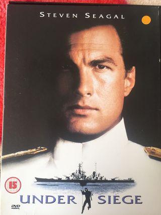 DVD under siege.