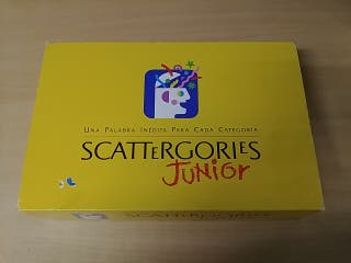 Juego de mesa Scattergories Junior