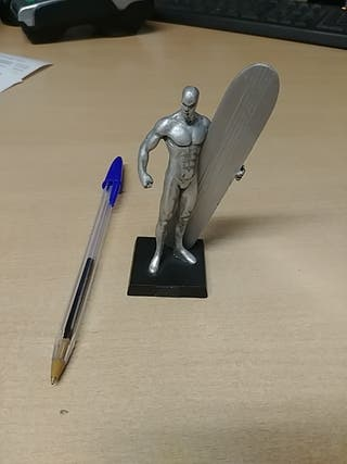 Figura plomo SilverSurfer