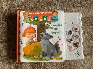 Minidiccionario de los bebés -Animales del bosque-