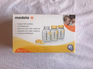 3 botellas-biberón Medela